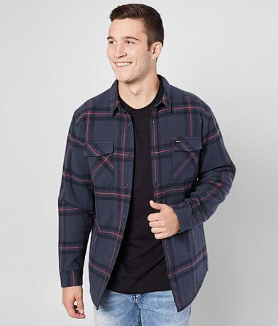 RVCA Yield Flannel Shirt Jacket
