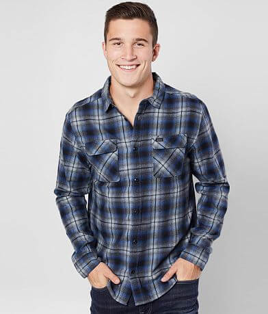 RVCA Hostile Flannel Shirt