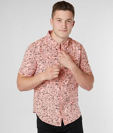 RVCA Sketchy Palms Shirt