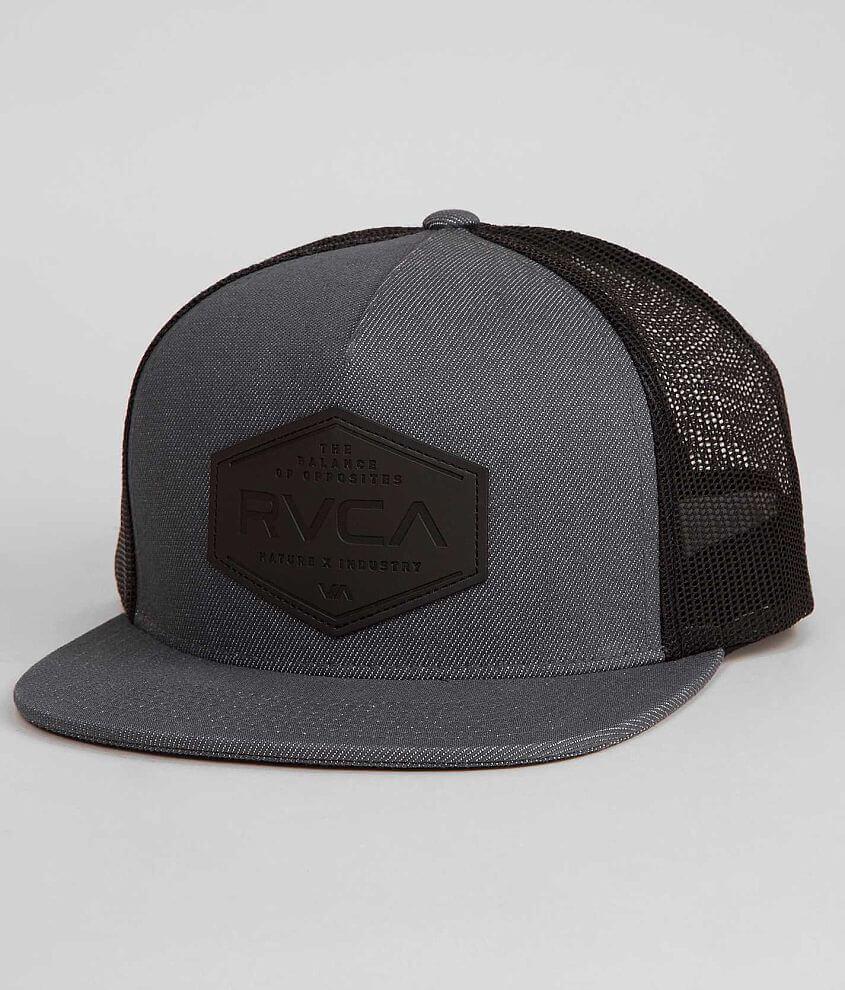 RVCA Balance Trucker Hat front view