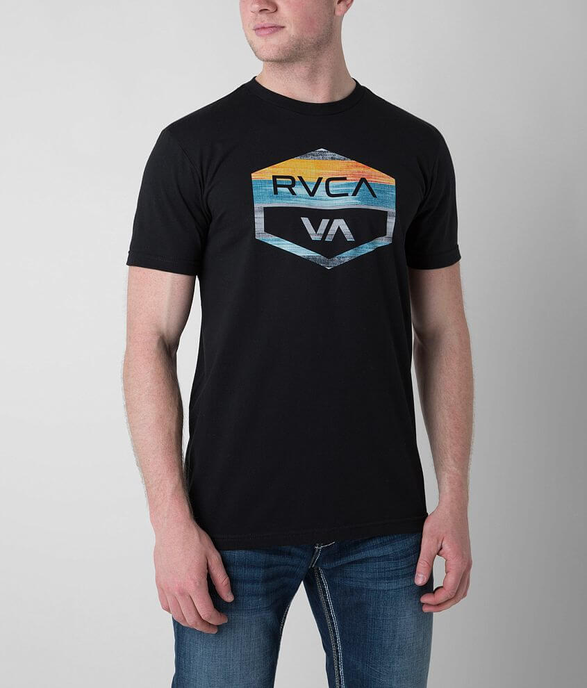 RVCA Hex Badge T-Shirt front view