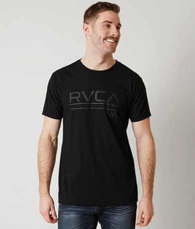 RVCA Distressed Stripe T-Shirt