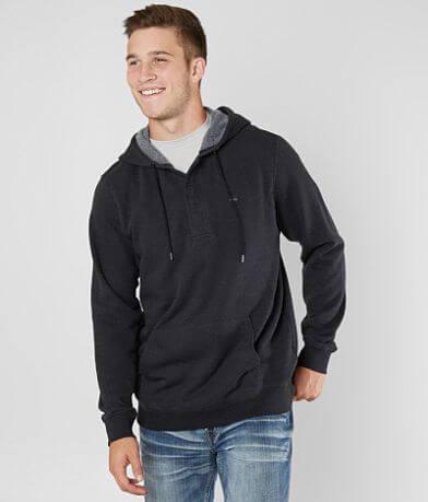 RVCA Lupo Hooded Henley Sweatshirt