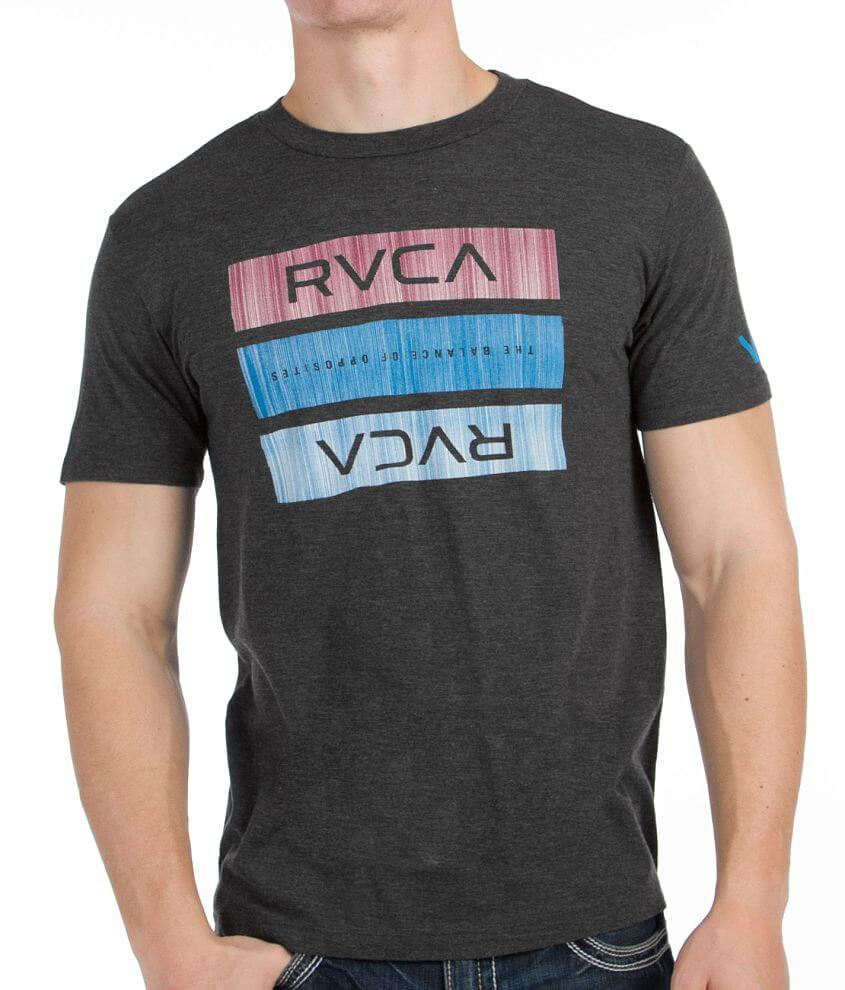 RVCA New Bars T-Shirt front view