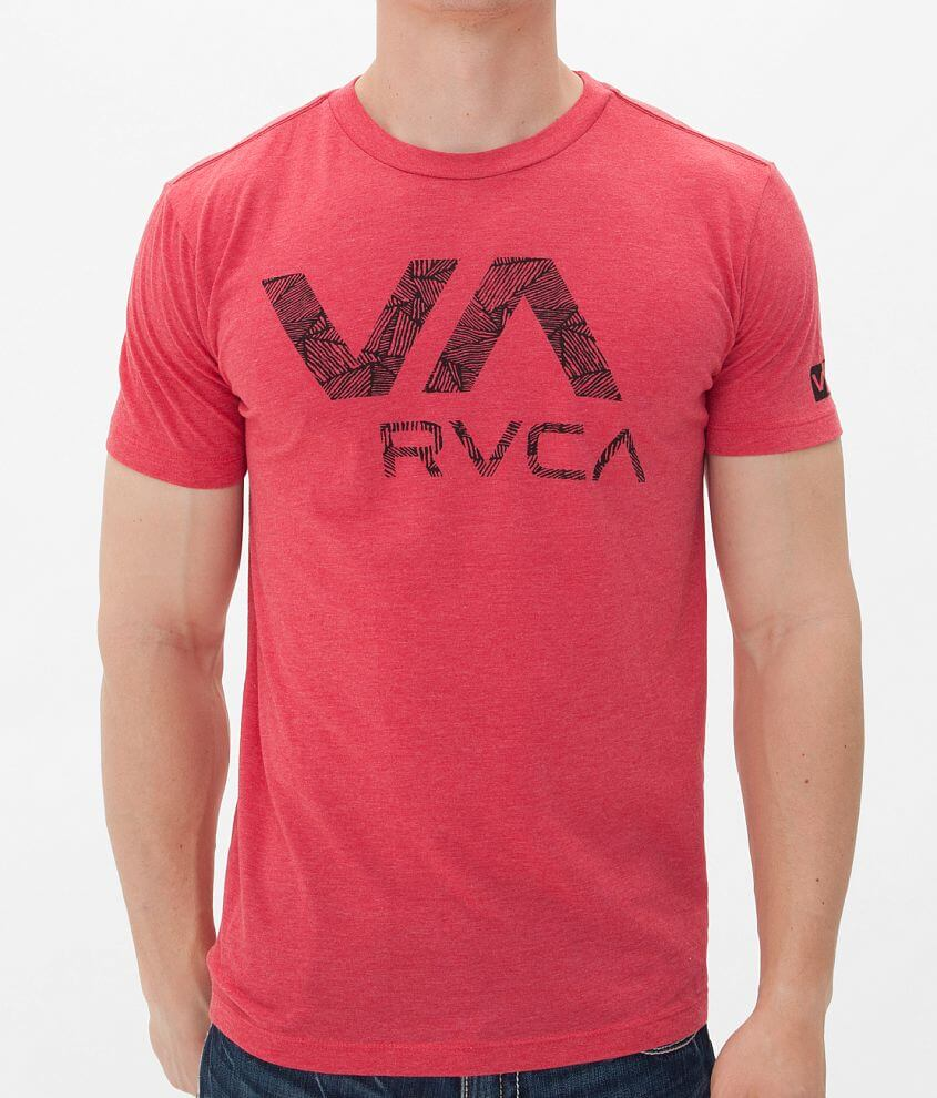 RVCA Wild Triangle T-Shirt front view