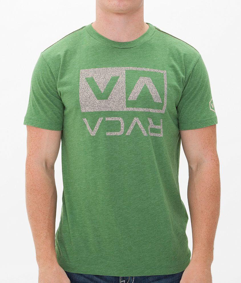 RVCA Balance Box Crackle T-Shirt front view