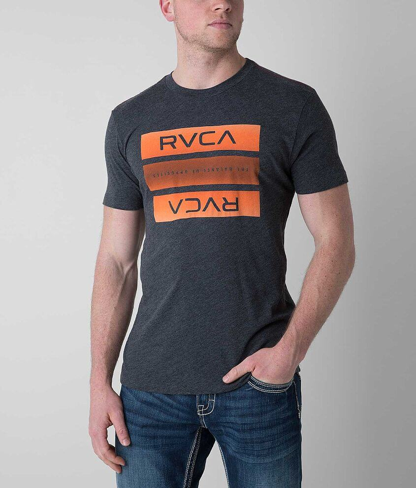 RVCA New Bar T-Shirt front view