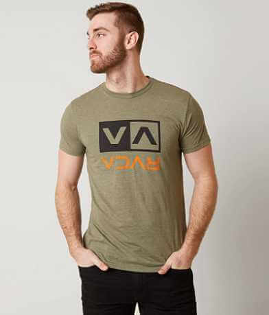 RVCA Two Color Flipped T-Shirt