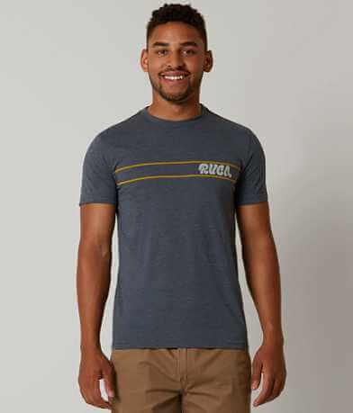 RVCA Script Stripe T-Shirt