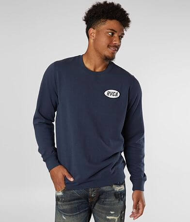 RVCA Leisure Crew Neck Sweatshirt