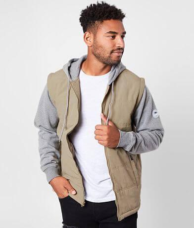 RVCA Logan Hooded Puffer Jacket