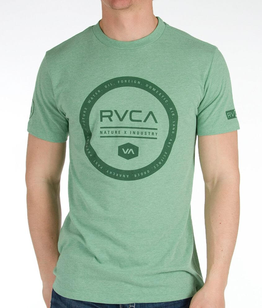 RVCA Industrial Circle T-Shirt front view