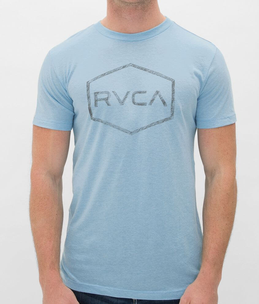 RVCA Chev Pencil T-Shirt front view