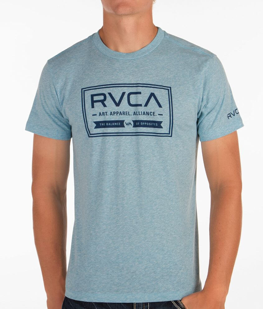 RVCA Label T-Shirt front view