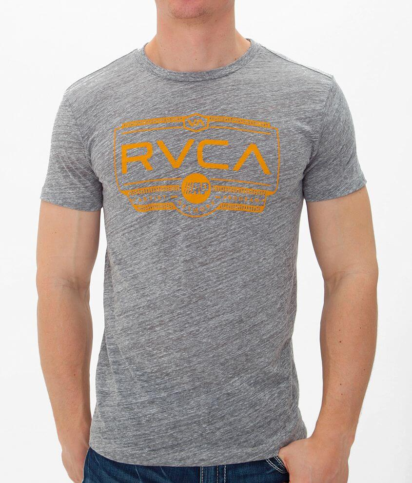 RVCA Wood Work T-Shirt front view