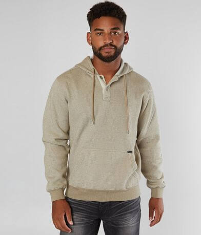 RVCA Vista Hooded Henley Sweatshirt