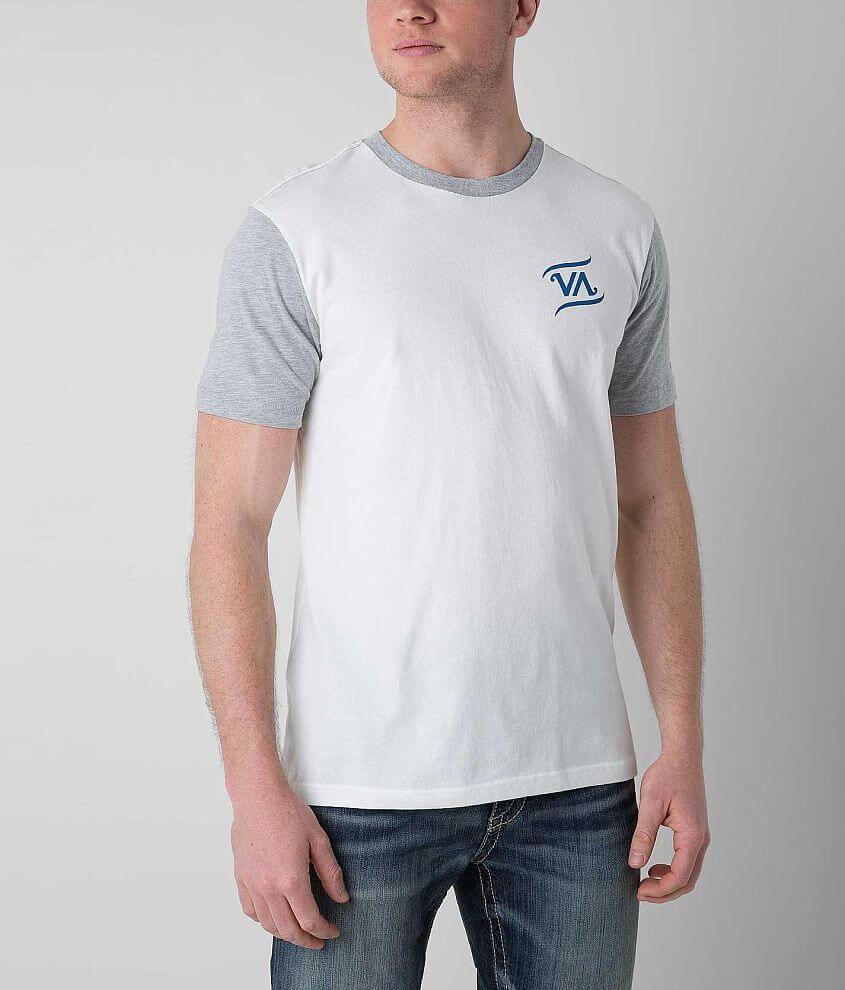 RVCA Script T-Shirt front view