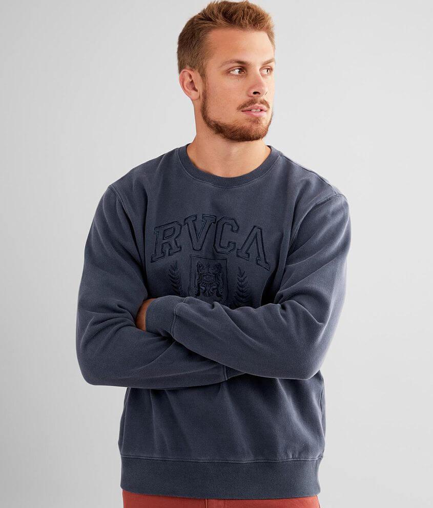 RVCA Tonal Crest Sweatshirt front view