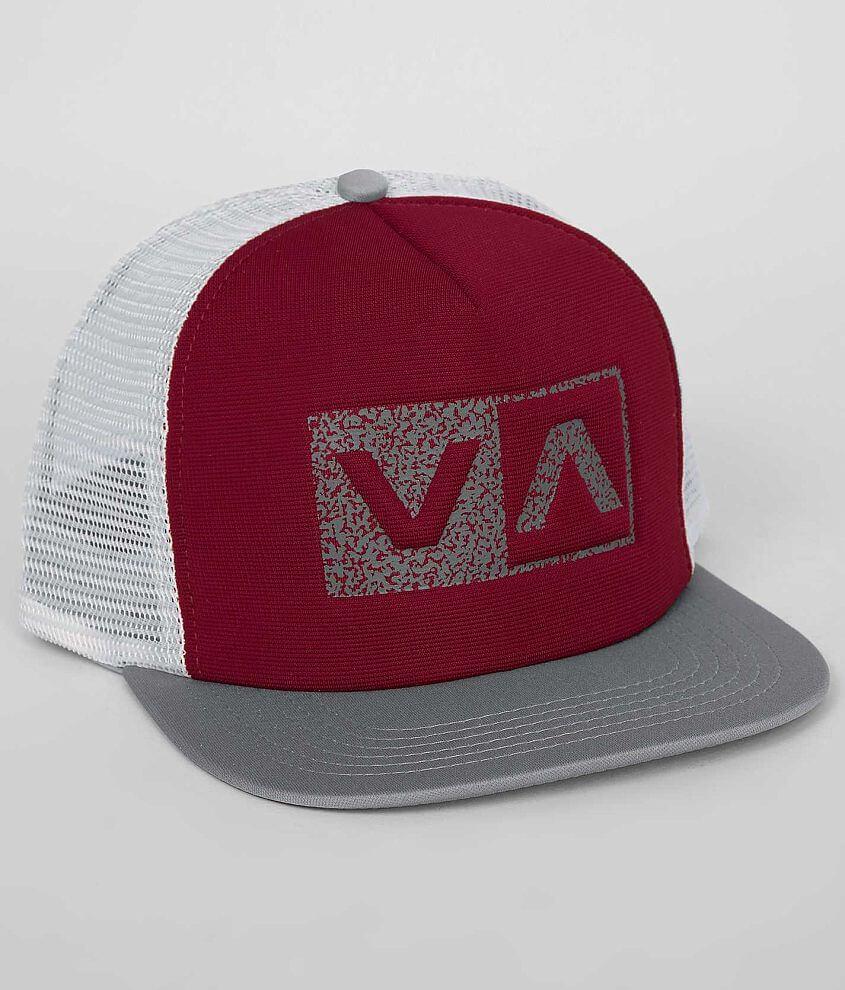 RVCA Balance Box Trucker Hat front view