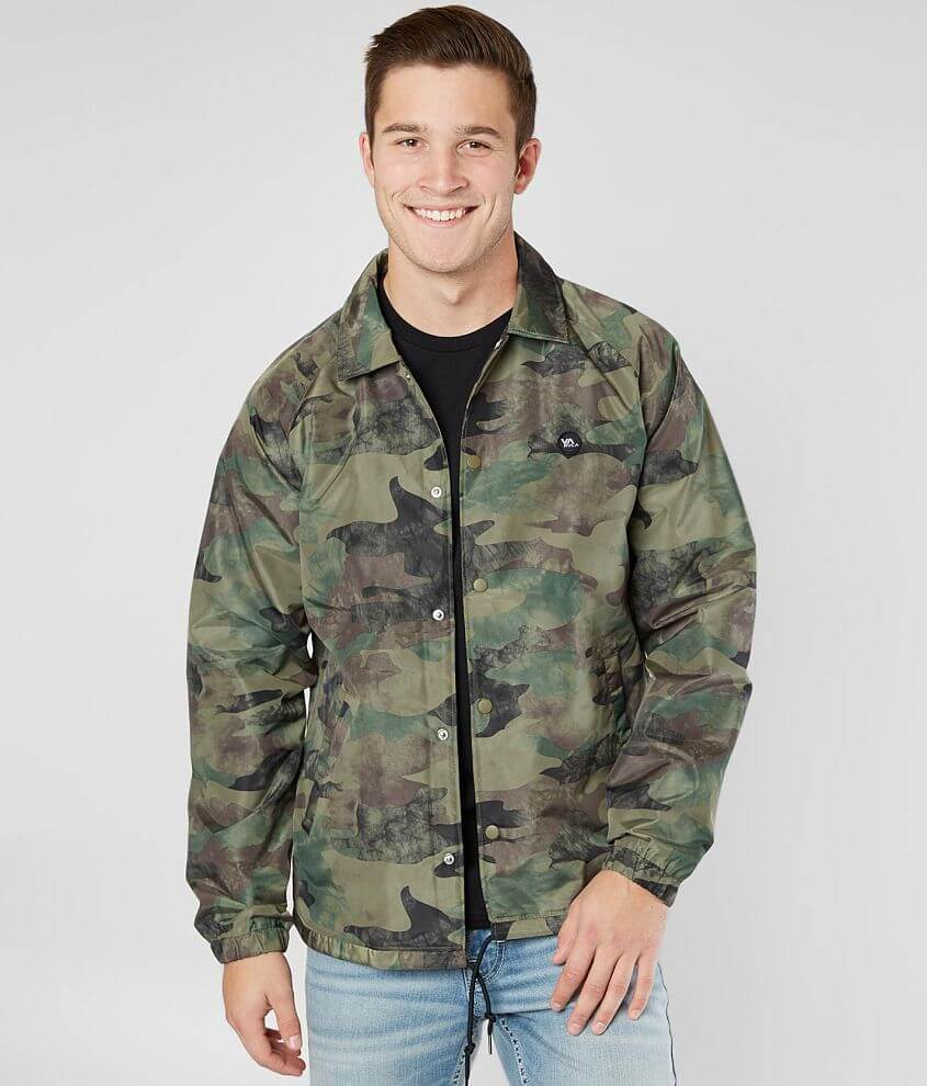 RVCA ATW II Coaches Jacket front view