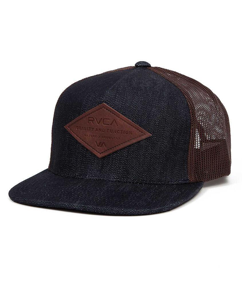 RVCA Basic Balance Trucker Hat front view