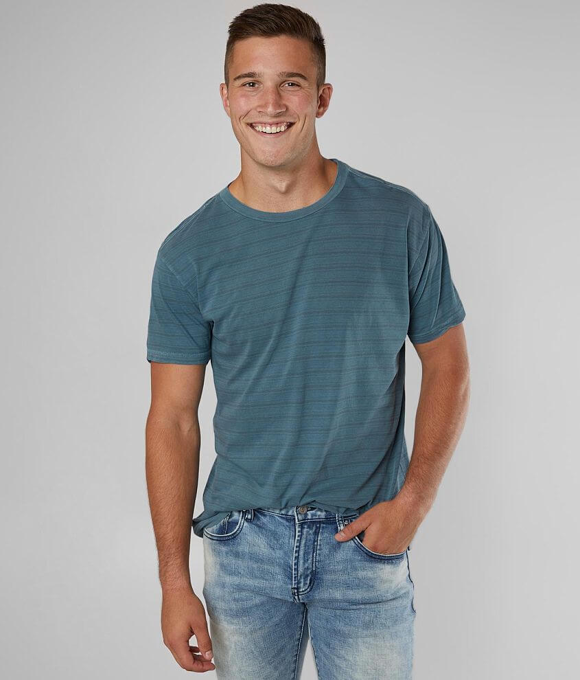 RVCA Saturation Striped T-Shirt front view