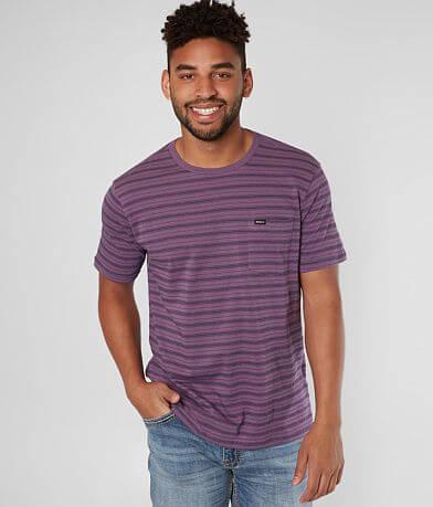 RVCA Shuffle Striped T-Shirt