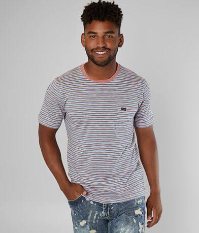 RVCA Foz Striped T-Shirt