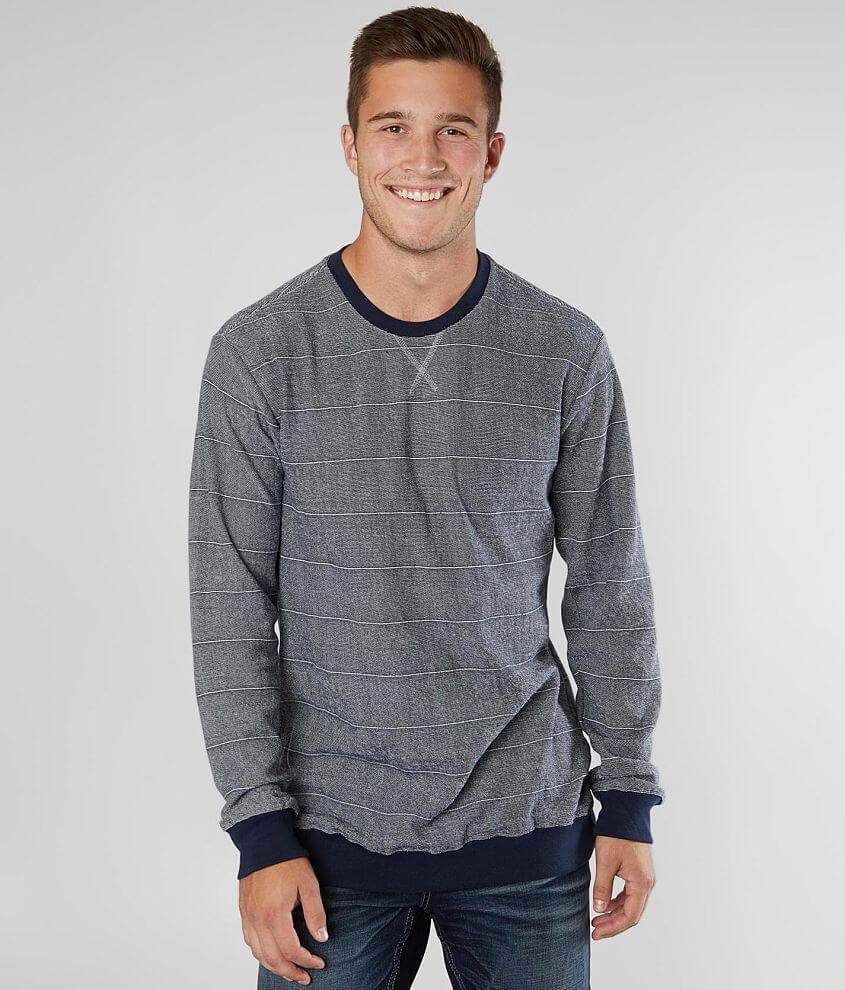 RVCA Luxury Crew Neck Pullover front view
