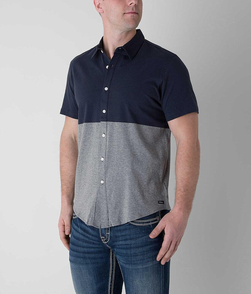 RVCA Smoothed Out Shirt front view