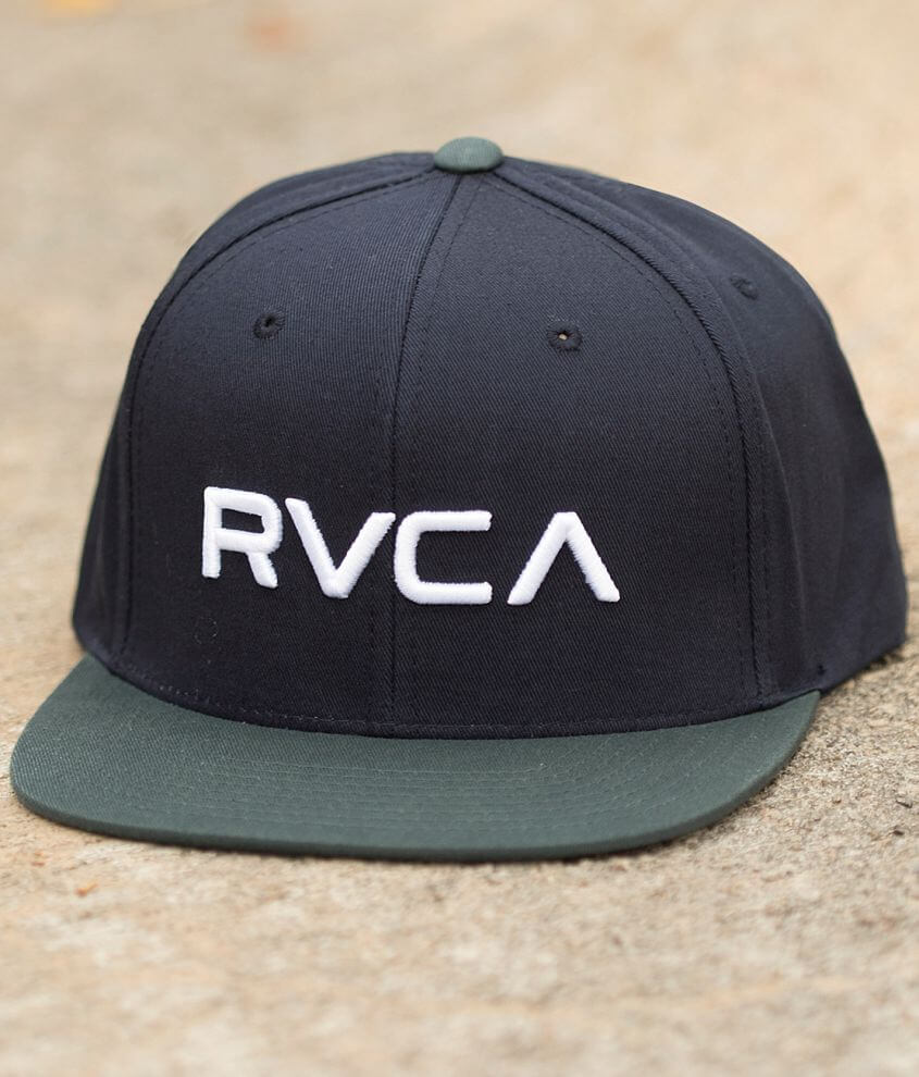 RVCA Twill Hat front view