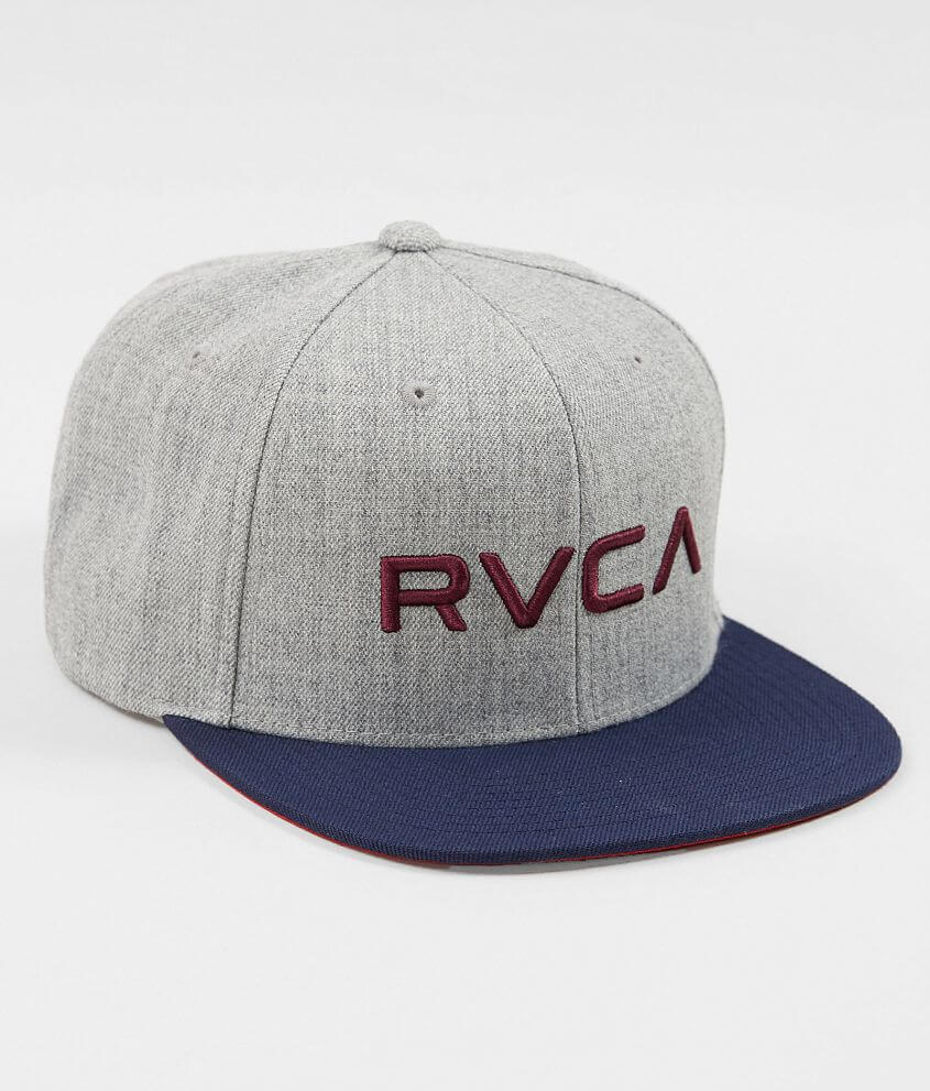 sports shoes 29ffc 3bf7f RVCA Twill Hat - Men s Hats in Heather Grey Blue   Buckle