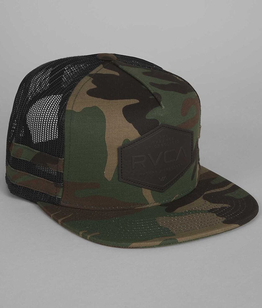 RVCA Sargento Trucker Hat front view