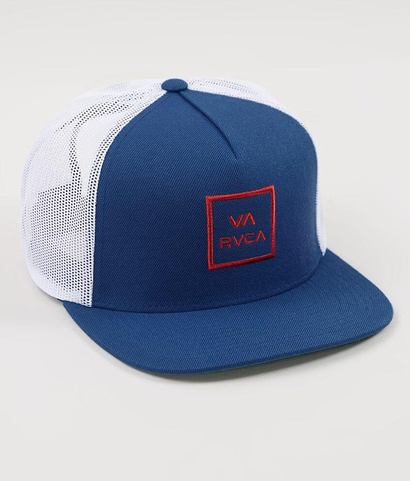 RVCA All The Way Trucker Hat - Men s Hats in Ink Blue  08cd005283b