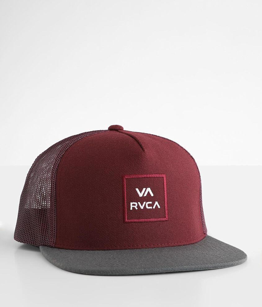 RVCA All The Way Trucker Hat front view