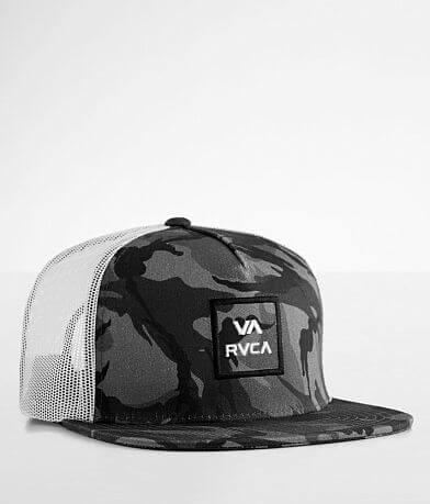 RVCA VA All The Way Camo Trucker Hat