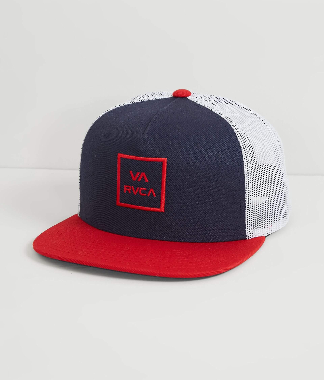 a946b394f6894 RVCA VA All The Way Trucker Hat - Men s Hats in Navy White