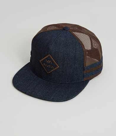 RVCA Stripes Trucker Hat