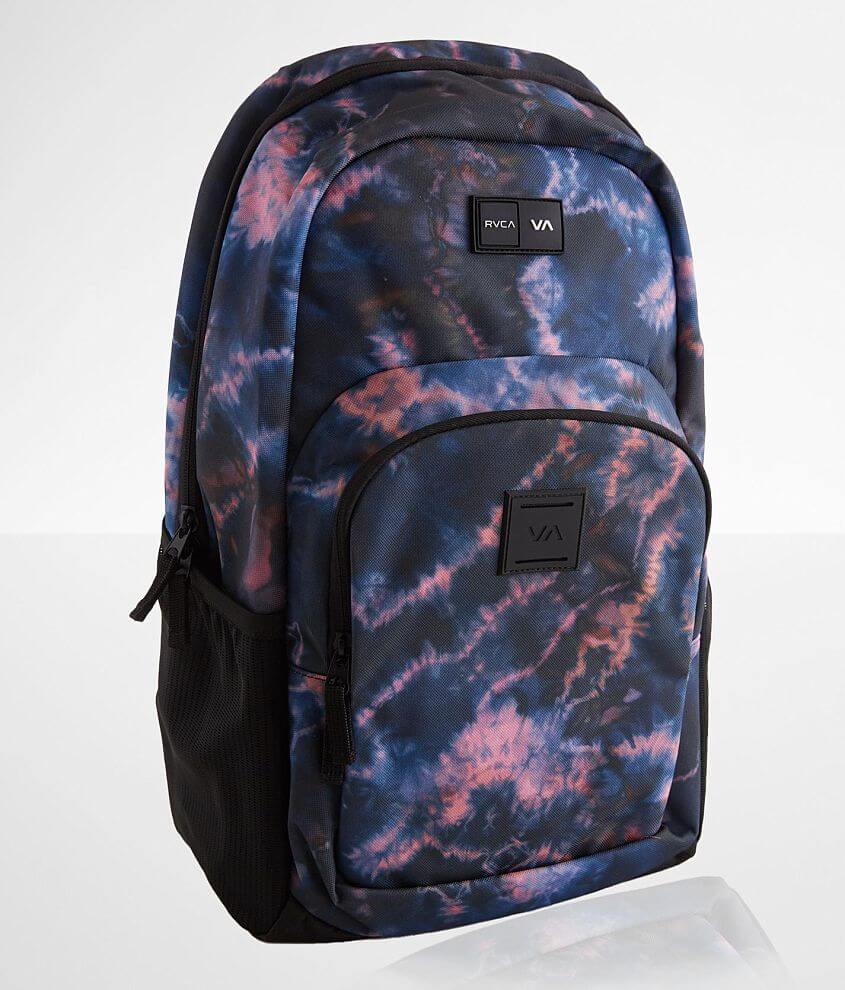 RVCA Estate III Tie Dye Backpack front view