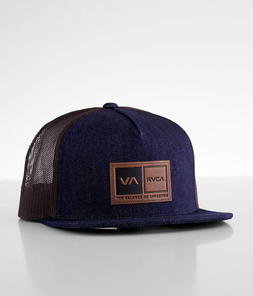 RVCA Sports Box Trucker Hat front view