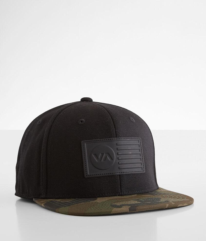 RVCA Independence Twill 210 Stretch Hat front view