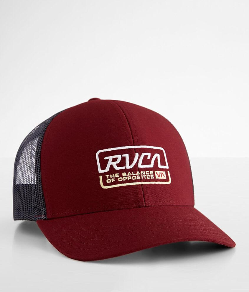 RVCA Factory Trucker Hat front view