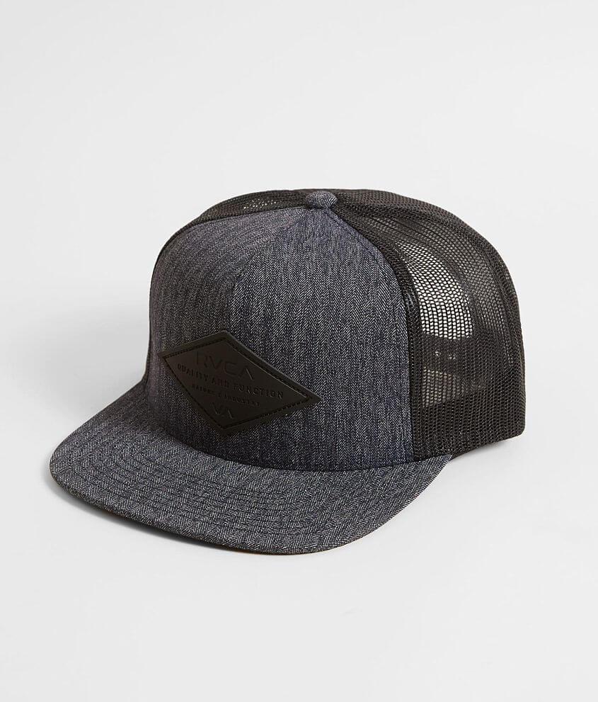 3dc8e67a64029 RVCA Transit Stretch Trucker Hat - Men s Hats in Dark Navy