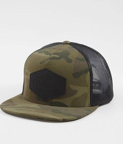 RVCA Black Balance Trucker Hat