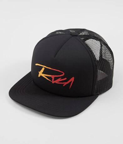 timeless design b1122 c291e RVCA Skratch Gradient Trucker Hat
