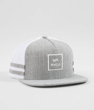 RVCA Stripes Our Way Trucker Hat