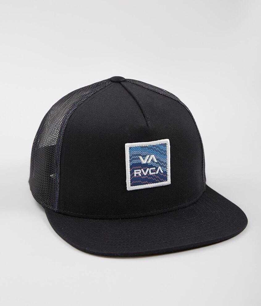 RVCA All The Way Trucker Hat - Men s Hats in Black Multi  8318815bd0e