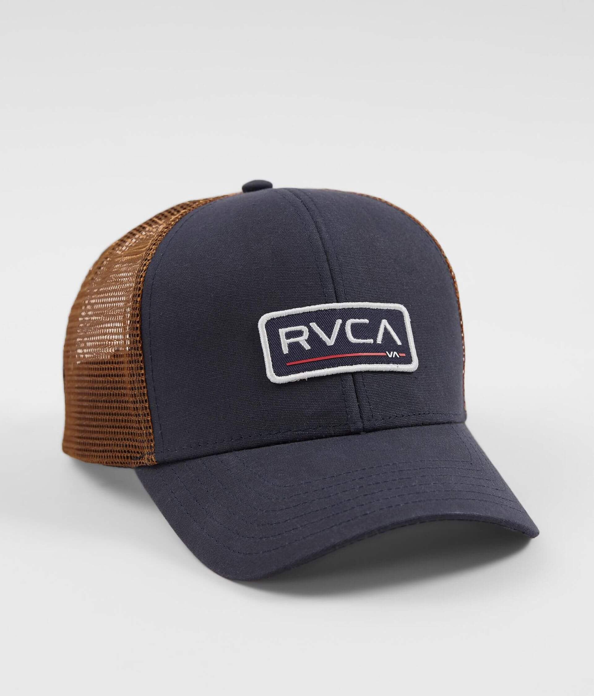RVCA Ticket Trucker Hat - Men s Hats in Navy  20c5d8f9cc7c