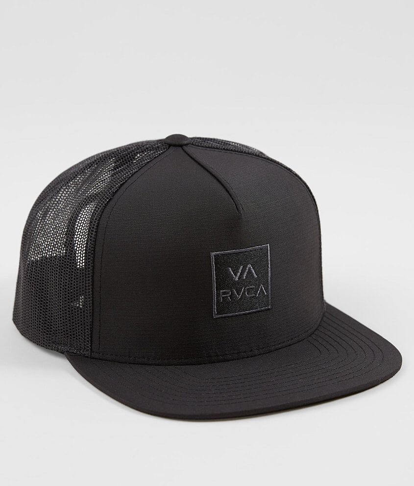 RVCA Delux Trucker Hat - Men s Hats in Black  f46f2c16a34