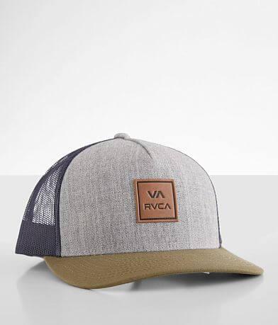 RVCA All The Way Color Block Trucker Hat